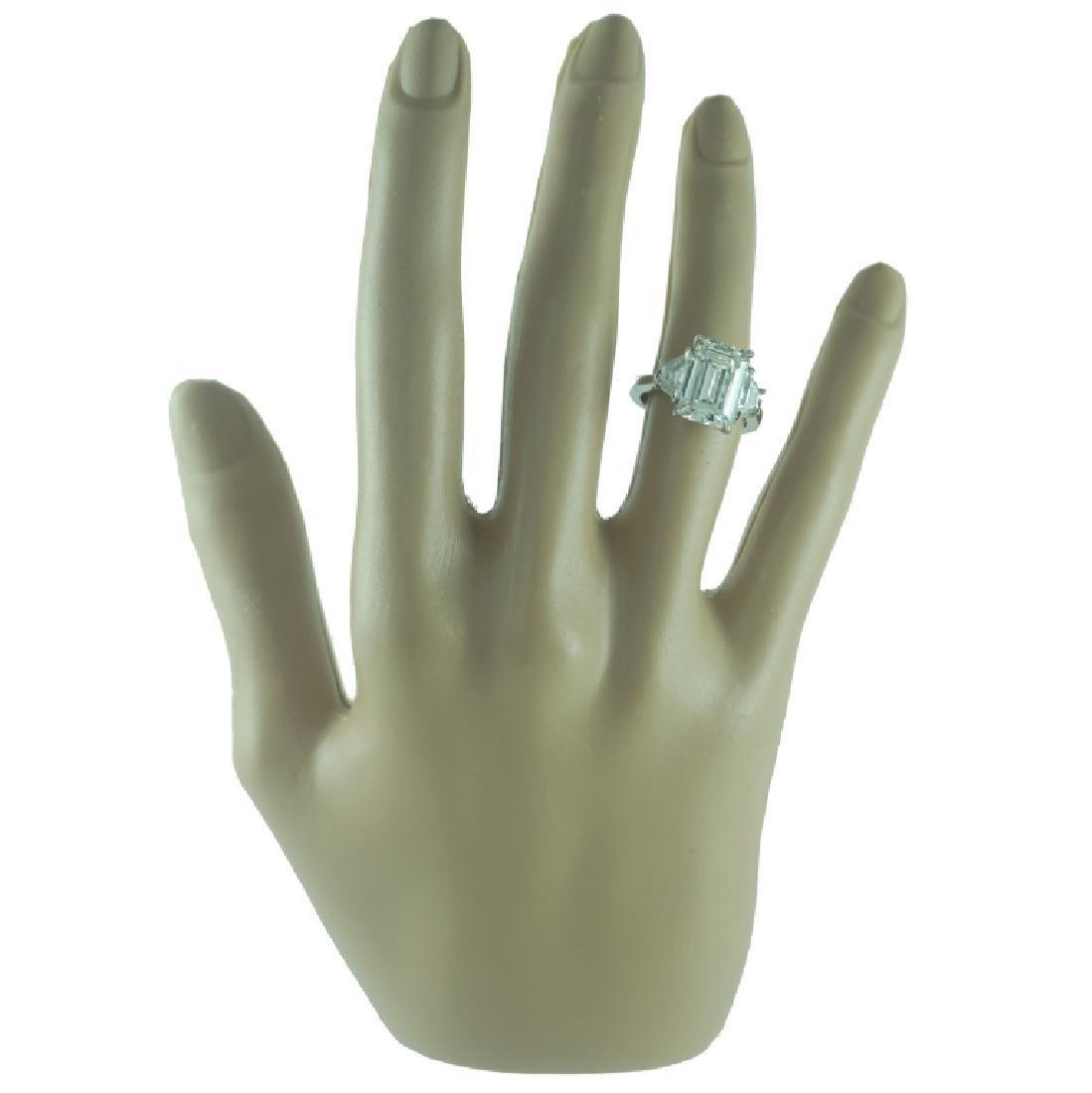 GIA certified, 5.03 Carat VS2/J Engagement Ring
