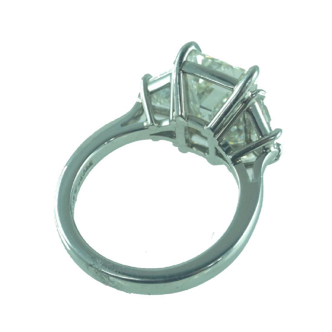 GIA certified, 5.03 Carat VS2/J Engagement Ring - 3