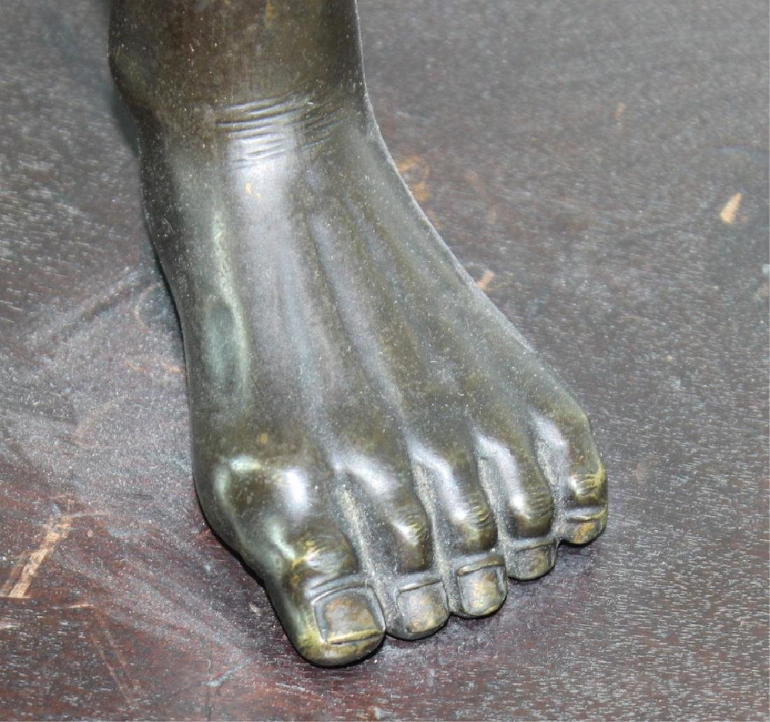 Monumental Japanese Meiji Figural Bronze - 2