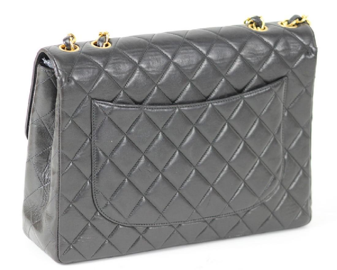 Chanel Quilted Jumbo Classic Single Flap Purse - 2