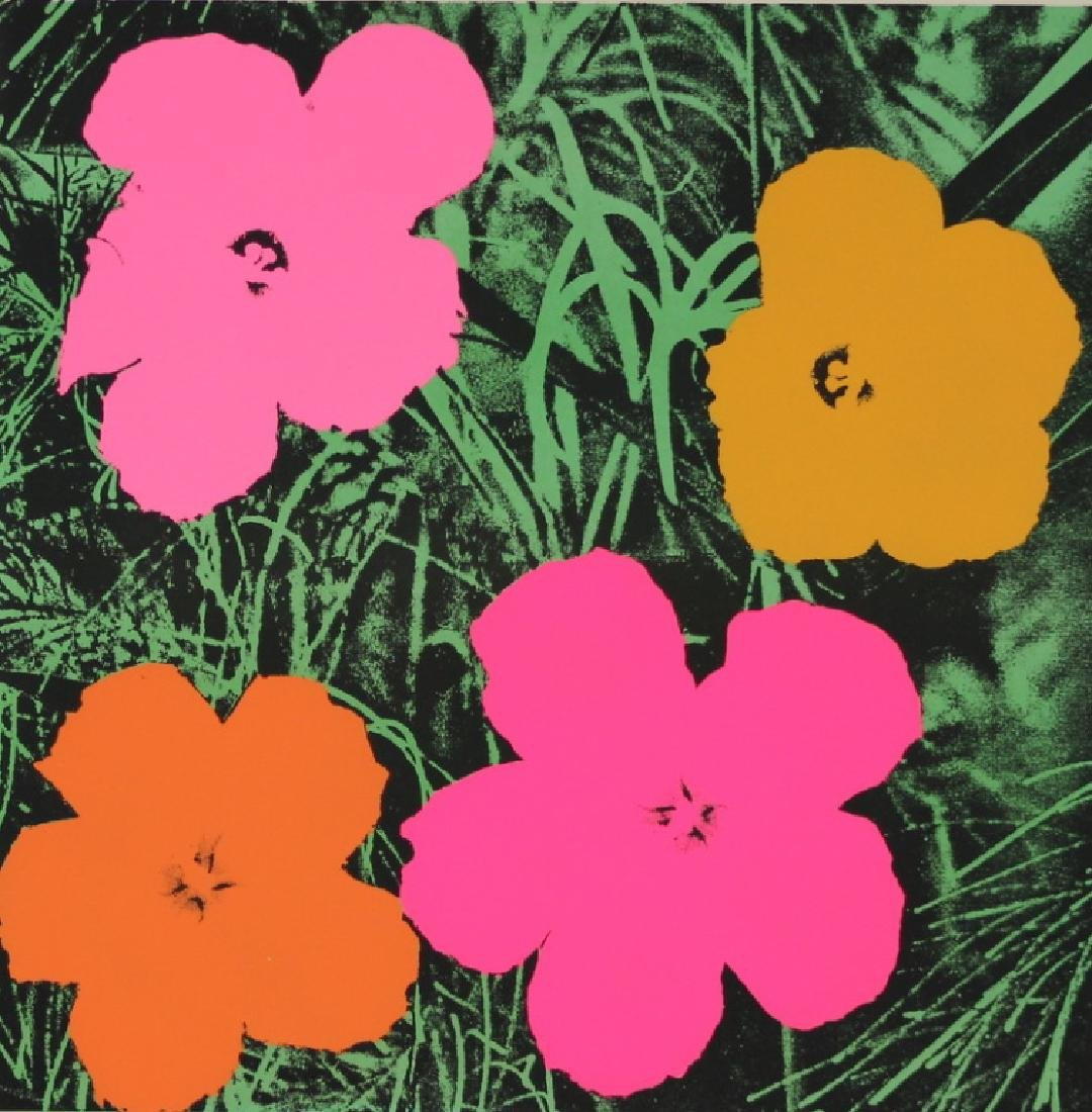 "Original Andy Warhol ""Flowers"" 1964 Lithograph"