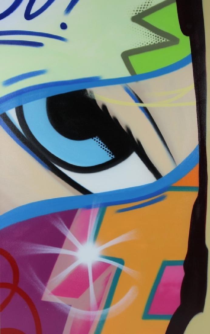 """John Crash Matos """"Forlan Part 1"""" Aerosol Painting"""