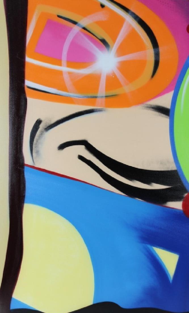 """John Crash Matos """"Forlan Part 2"""" Aerosol Painting"""