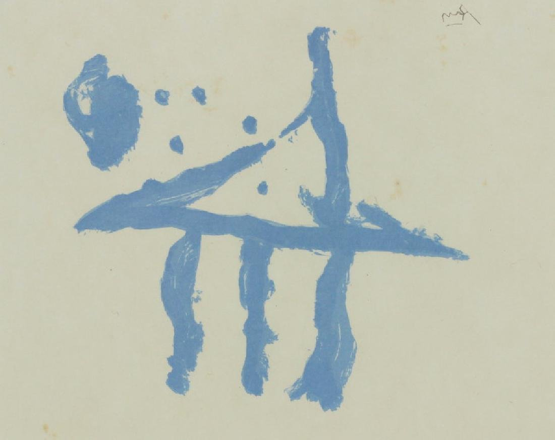Robert Motherwell Original Abstract Lithograph