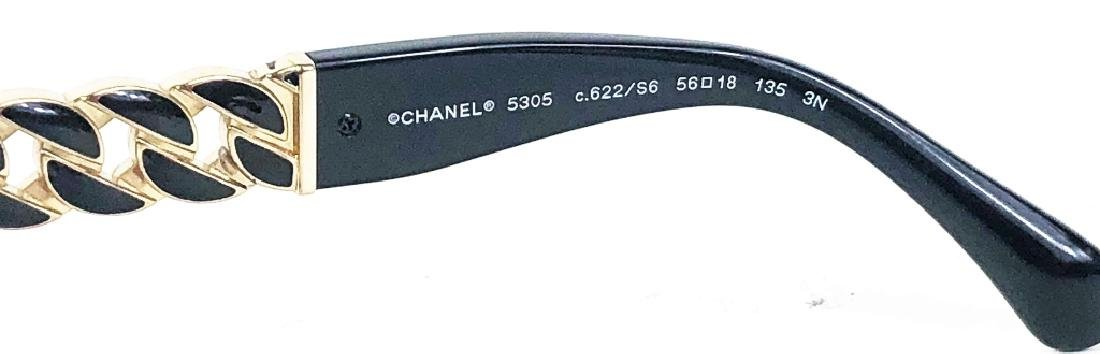 Chanel 5305 Chain Link CC Logo Wayfarer Sunglasses - 5