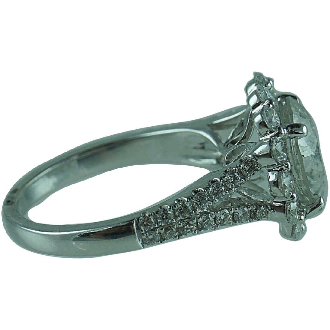 Approx 4.23 TCW Diamond Engagement Ring. - 2
