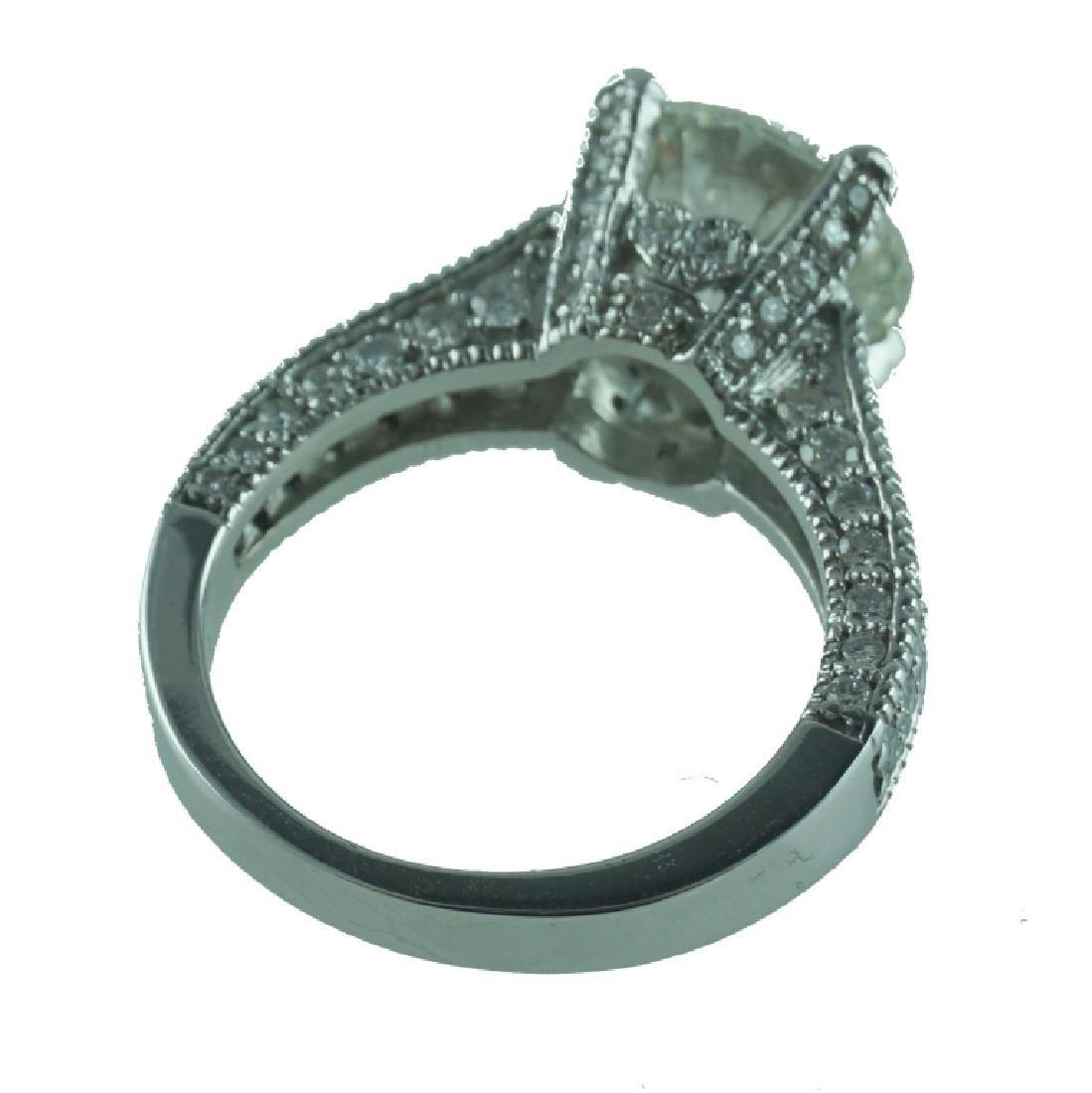 Approx. 4.54 TCW Round Brilliant Cut Diamond Ring. - 2