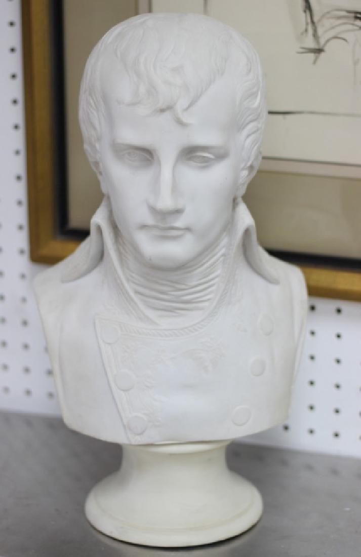 After Antonio Canova Parian Bust of Napoleon