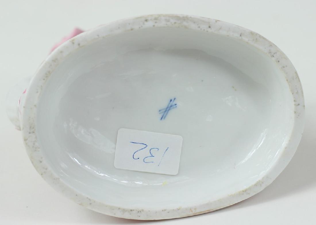 Antique German Sitzendorf Porcelain Grouping - 2
