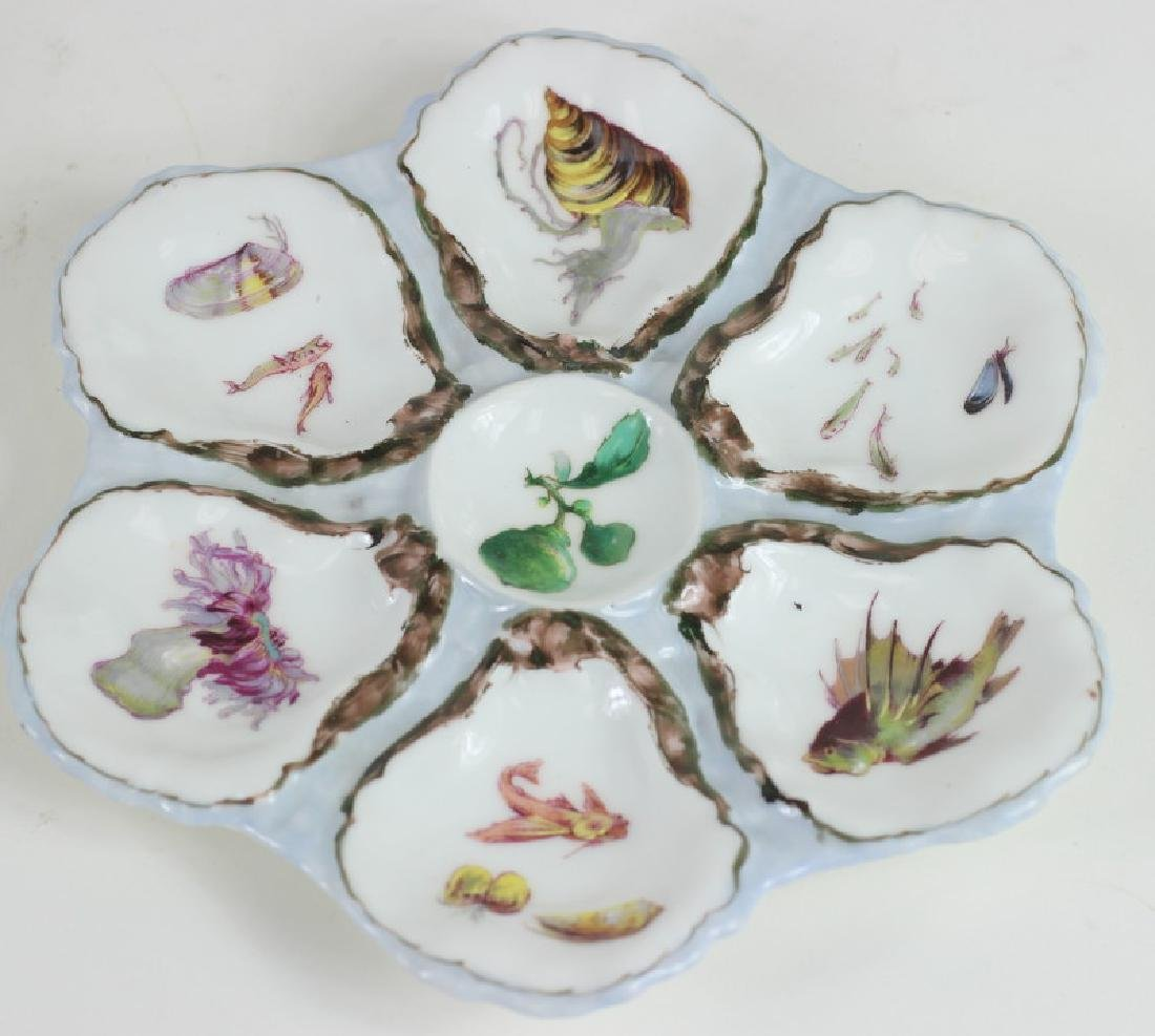 Haviland & Co. Limoges China Oyster Dish - 2