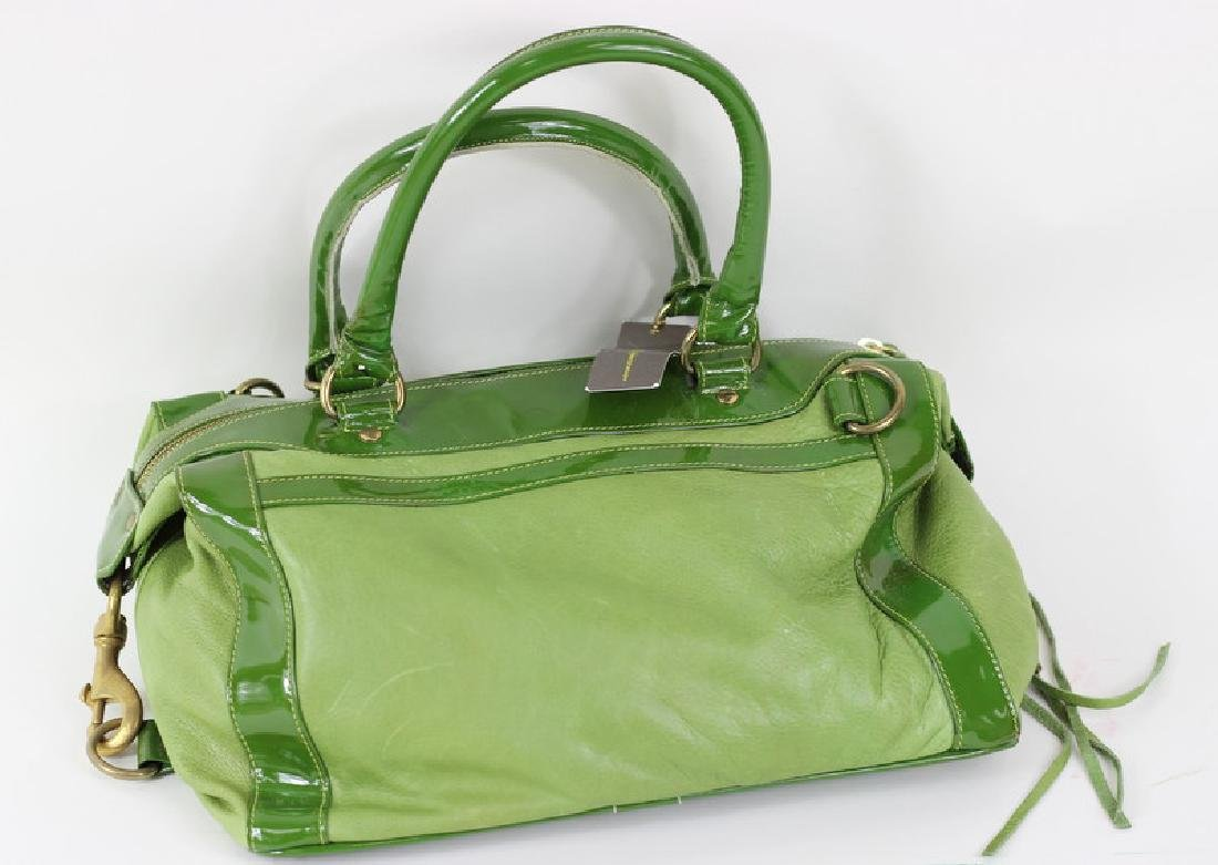 Rebecca Minkoff Green Patent Leather Hand Bag