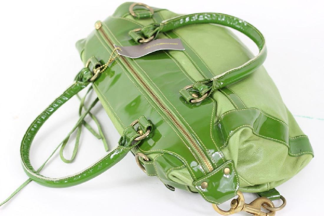 Rebecca Minkoff Green Patent Leather Hand Bag - 2