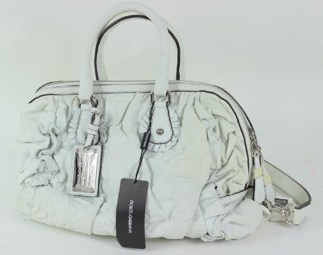 Dolce & Gabbana Borsa Mano Nappa Lavata Hand Bag - 3