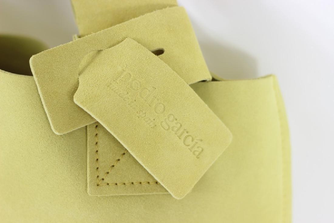 Pedro Garcia Borsa Camoscio Yellow Tote Bag - 2