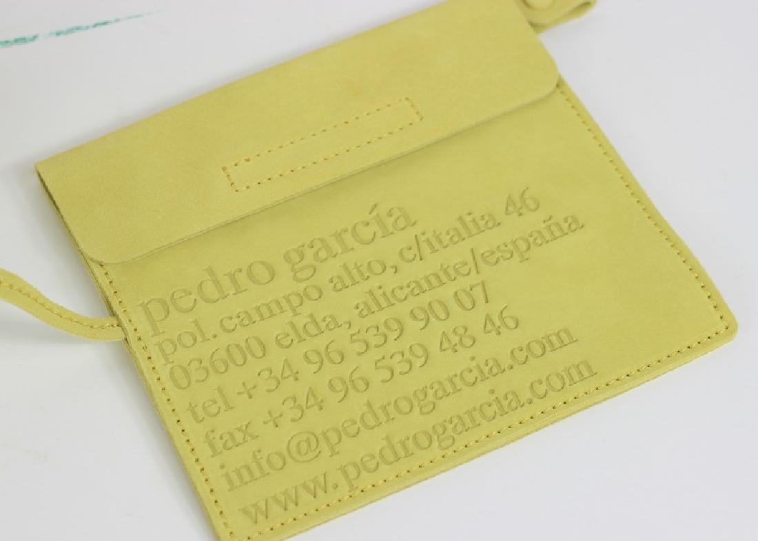 Pedro Garcia Borsa Camoscio Yellow Tote Bag - 4