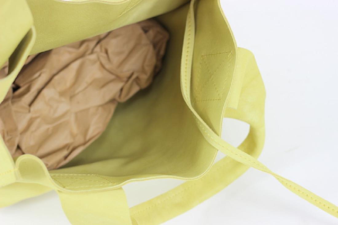 Pedro Garcia Borsa Camoscio Yellow Tote Bag - 5