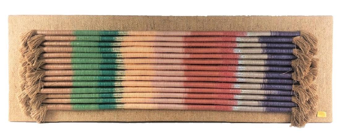 Barbara Barron Fiber Art Wall Hanging Tapestry