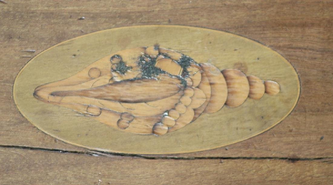 English Brass Mounted Wood Serving Tray - 3