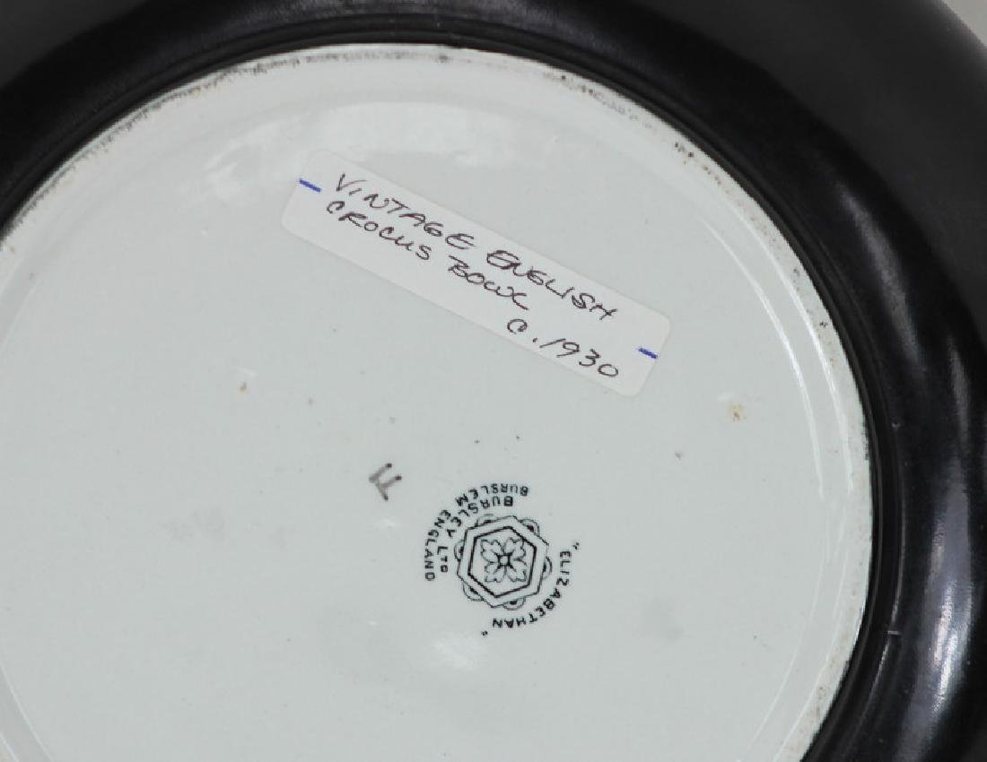 Vintage English Crocus Bowl. Circa 1930. - 3