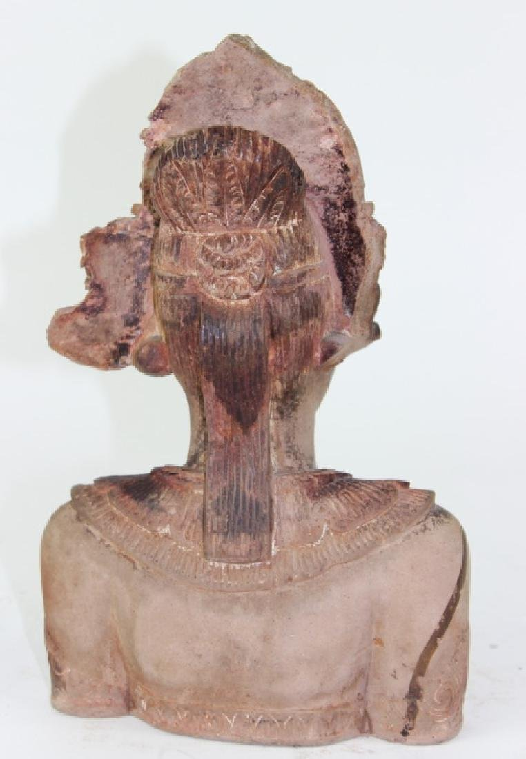 Middle Eastern Cermaic Sculpture of Woman - 2