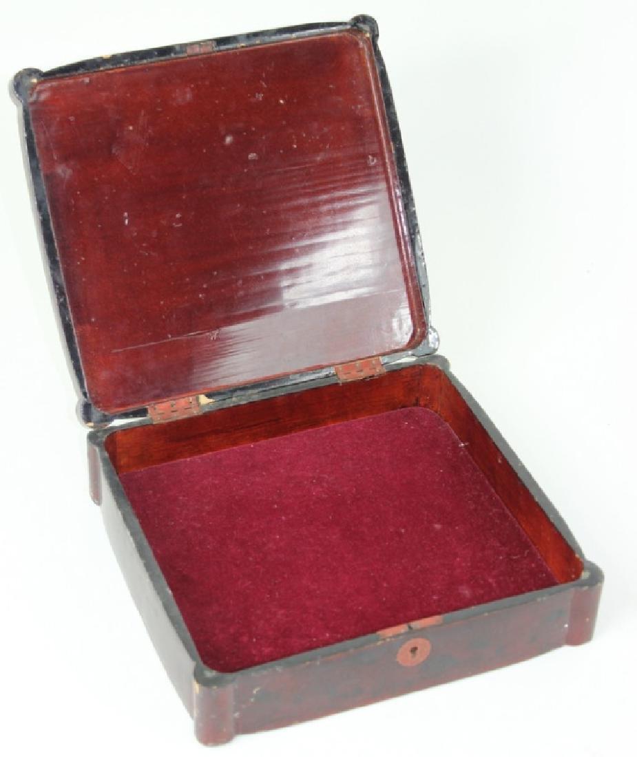 Chinese Inlaid Wooden Box - 2