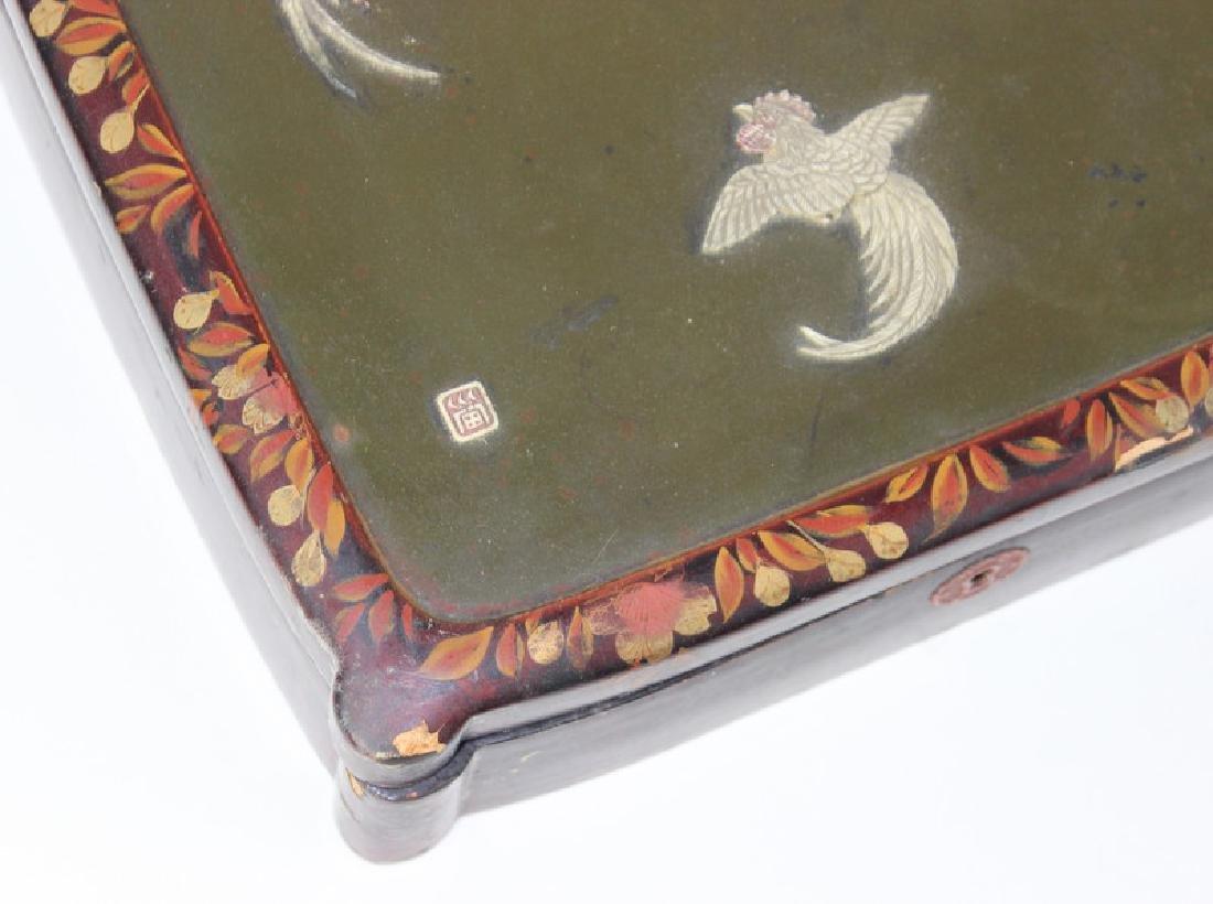Chinese Inlaid Wooden Box - 4