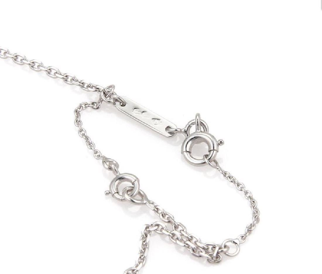 Cartier Sapphire 18k Gold Heart Pendant Necklace - 6