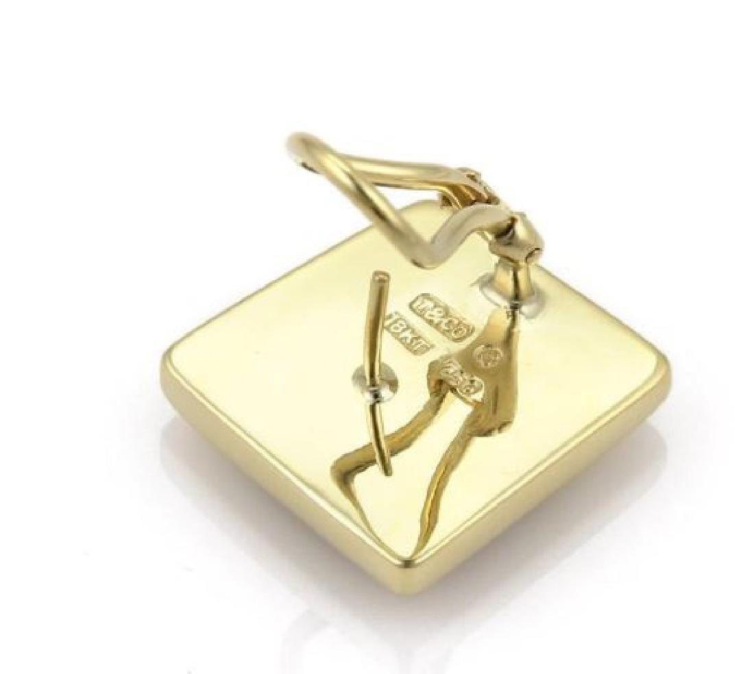 Tiffany & Co Mother of Pearl 18k Gold Geo Earrings - 4