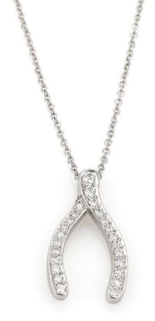 Tiffany & Co. Diamond Platinum Chain Necklace