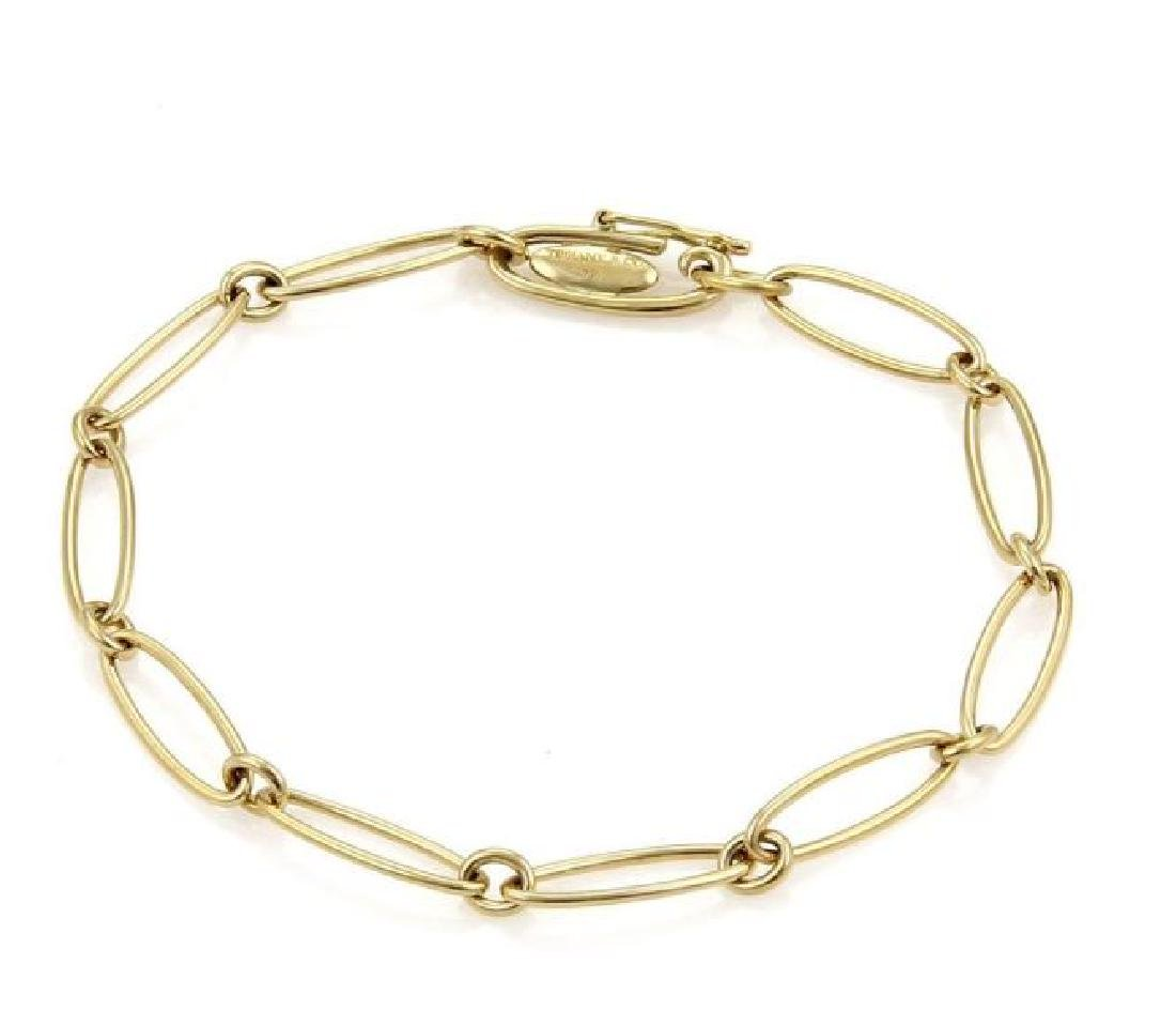 Tiffany & Co. Peretti 18k Gold Chain Link Bracelet