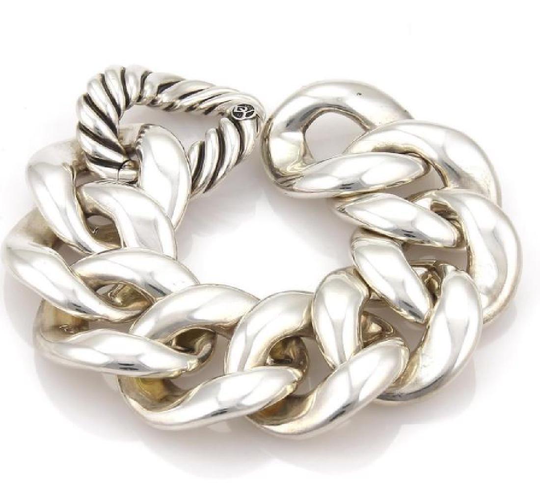 David Yurman Cordelia Large Curb Link Bracelet