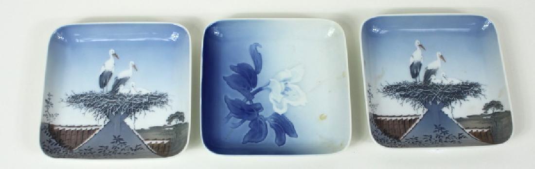 (3) Three Copenhagen Denmark B&G Dishes