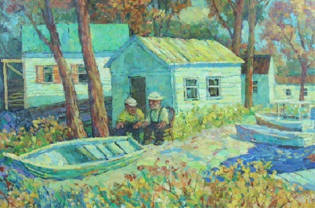 David Davidovich Burliuk, American/Ukrainian (1882 - 2