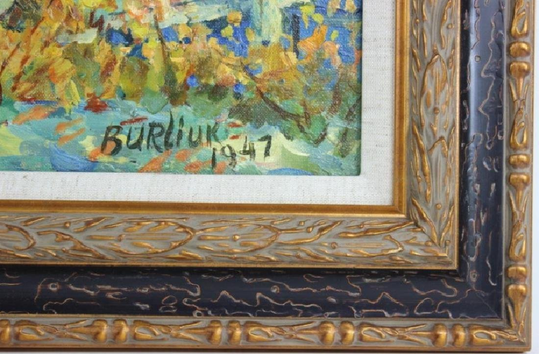 David Davidovich Burliuk, American/Ukrainian (1882 - 5