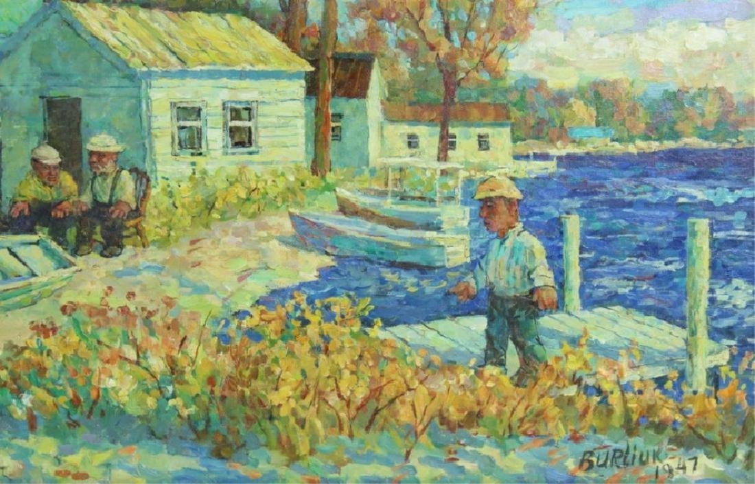 David Davidovich Burliuk, American/Ukrainian (1882 - 7