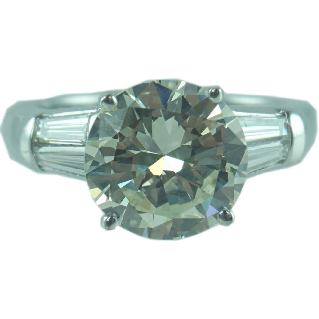 GIA Certified, 3.52 VS1/M Engagement Ring.