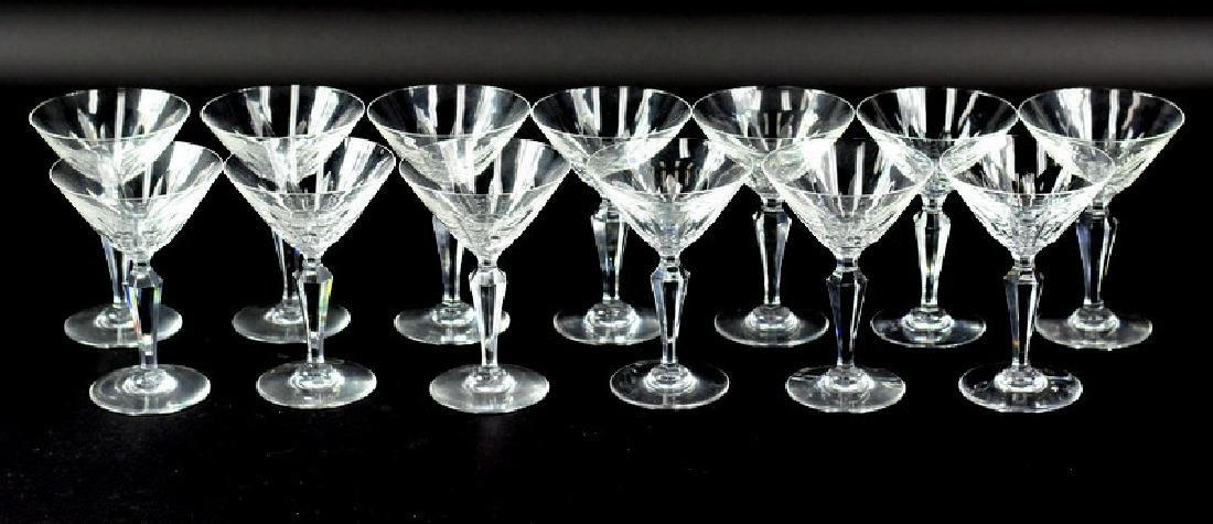 13) Thirteen Baccarat Piccadilly Goblets - 3
