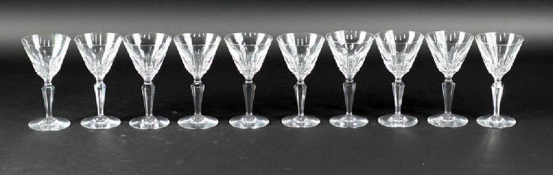 10 Ten Baccarat Piccadilly Goblets - 3