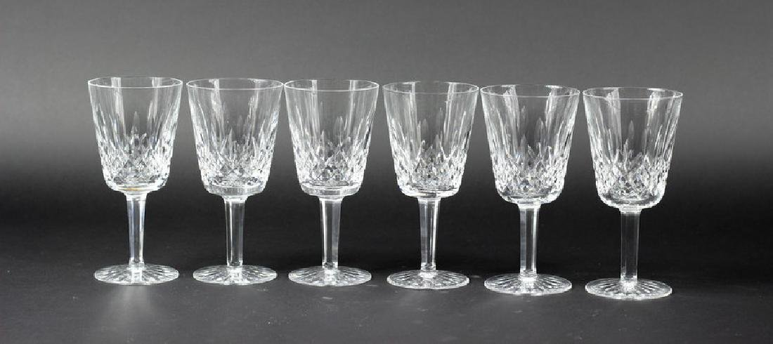 6 Pcs. Set of Waterford Water Glasses