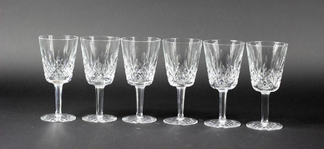 6 Pcs. Set of Waterford Water Glasses - 2