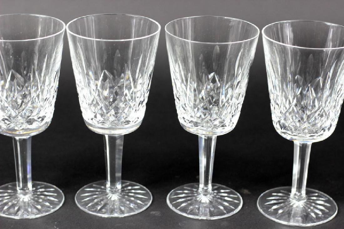 6 Pcs. Set of Waterford Water Glasses - 3