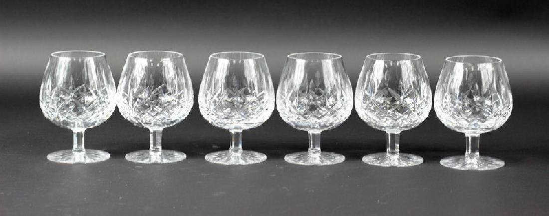 6 Pcs. Collection of Waterford Scotch Glasses