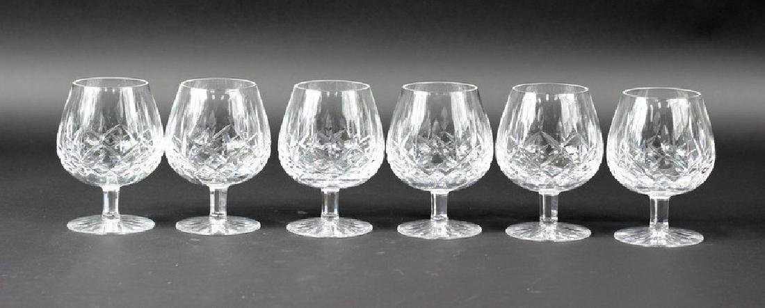6 Pcs. Collection of Waterford Scotch Glasses - 2