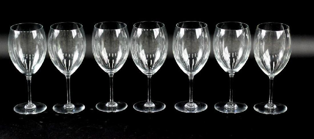 7 Pcs. Set of Baccarat Wine Glasses - 2
