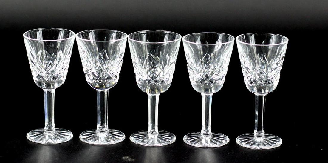 5 Pcs. Collection of Waterford Shot Glasses