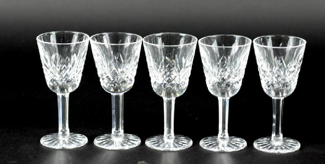 5 Pcs. Collection of Waterford Shot Glasses - 3