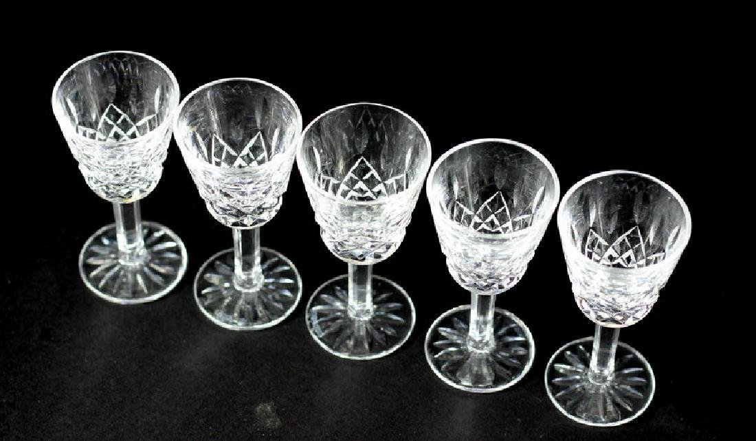 5 Pcs. Collection of Waterford Shot Glasses - 4