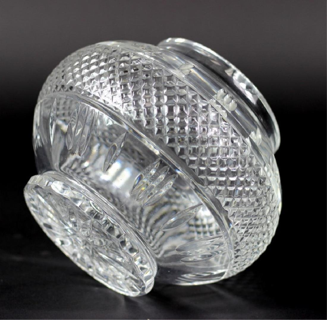 Waterford Style Cut Crystal Center Vase - 3