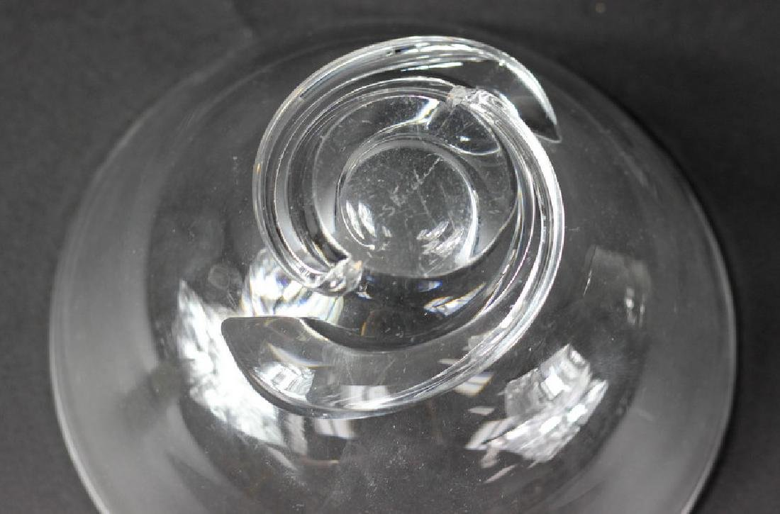 Stueben Clear Crystal Compote Bowl - 2