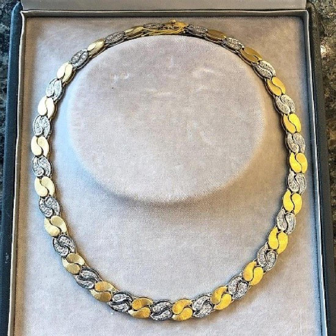 Mario Buccellati Diamond Necklace.